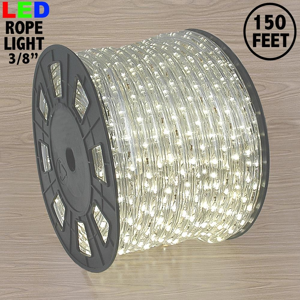 "Picture of Warm White Mini LED Spool 150' 3/8"" 2 Wire 120V"